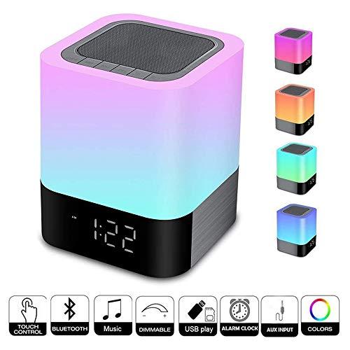 ZHANG Wake Up Light,Altavoz Bluetooth Control Toque