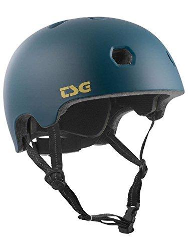 TSG Erwachsene Meta Solid Color Helm, Satin Jungle, L/XL