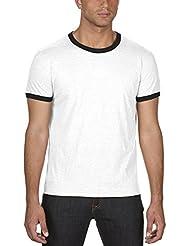 anvil Herren Ringer T-Shirt / 988
