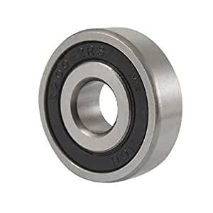 Replacement 6200-2RS Double Sealed Ball Bearing 10mm