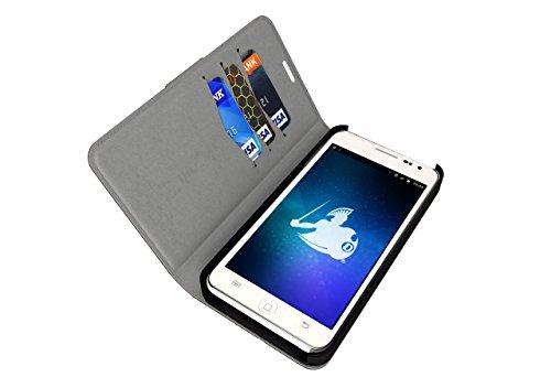 defendershield iPhone 6/6S EMF Strahlung & RFID-Blocker Geldbörse Fall-Schutz Handy Strahlung, Blau -