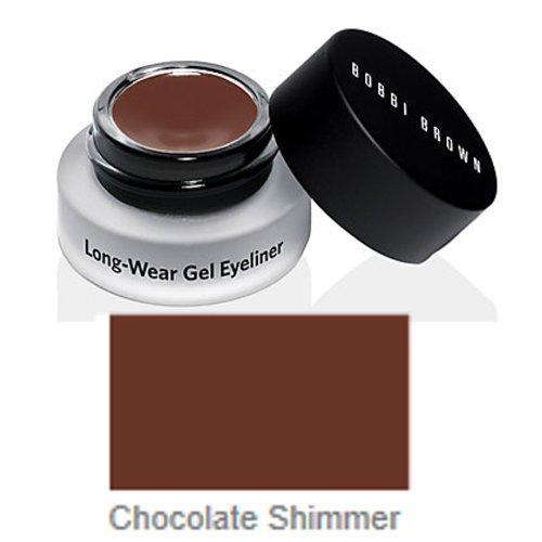 Bobbi Brown Long-Wear Gel Eyeliner, 13 Chocolate Shimmer, 1er Pack (1 x 3 g) -