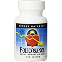 Source Naturals Policosanol 10mg, (30 tablets) (2 Tabletten 20 mg) preisvergleich bei billige-tabletten.eu