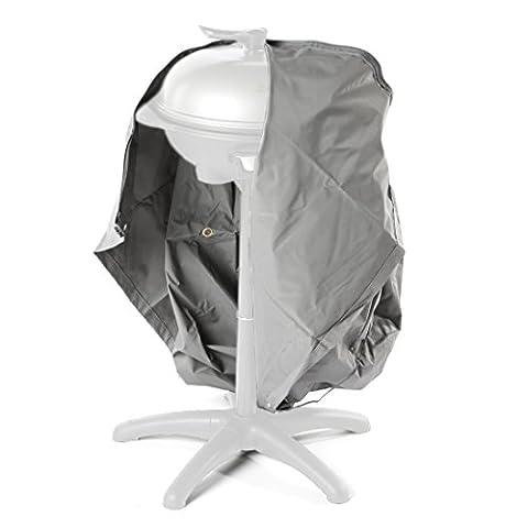 Ultranatura Gewebe-Schutzhülle Sylt für den Gartengrill, Wetterschutzhülle für Gasgrill oder Smoker, BBQ-Abdeckung in rund, 73 x 80 (Runde Gartenbank)