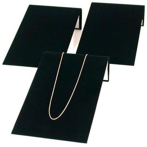 Findingking 3 en velours noir Bracelet Bijoux présentation et rampes