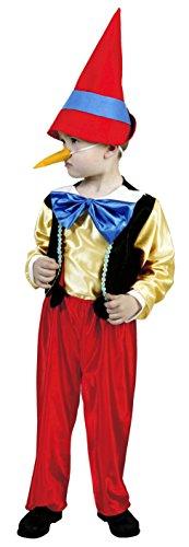 Disfraz de Pinocho para niños (5-6 años)