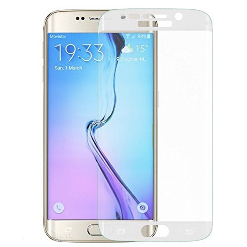 Plus High Quality Edge to Edge Full Screen Coverage Coloured Curved Tempered Glass Screen Protector For Samsung Galaxy S6 Edge Plus