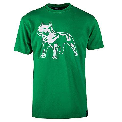 Amstaff Logo Shirt - grün M