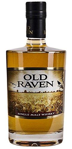 Preisvergleich Produktbild Old Raven Single Malt Whisky Triple Distilled + GB 41% 0,5 l