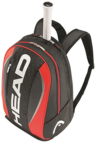 Head Tour Team- Mochila de tenis, color negro / rojo