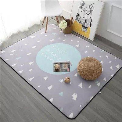 ch zum Verkauf 120X180CM Verdicken Soft Kinderzimmer Spielen Mat modernes Schlafzimmer Teppiche Große rosa Teppiche für Wohnzimmer, Blau, 100 cm x 150 cm ()