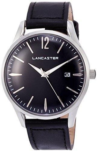 "Lancaster Paris ""Heritage"" reloj de pulsera negro hombre"