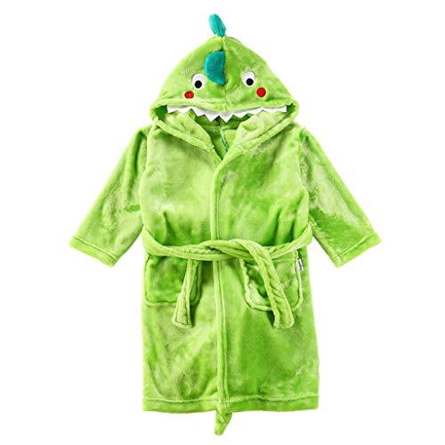 Niños Albornoz Dinosaurio Pijamas Camisón Toalla