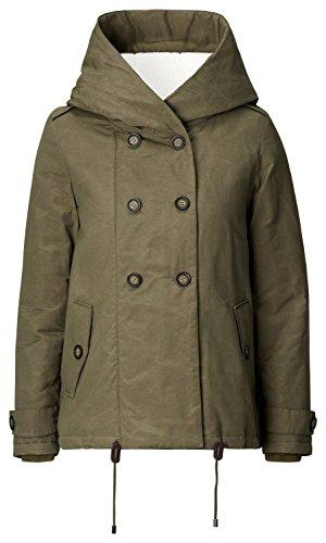 Noppies Damen Parka Umstands Jacke Jacket Abby Grün (Dark olive C195)