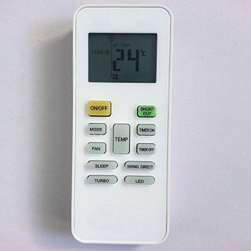 Generic Ersatz-Fernbedienung für Klimaanlage Carrier Springer Midea rg52b/BGE kompatibel mit rg52b/BGCE