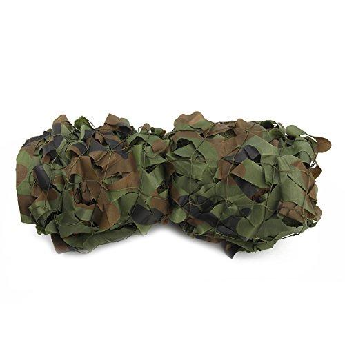 WINOMO 3M * 5M Woodland Camouflage Net Jagd Camp Camo Netting Schießen Sonnenschutz Netting für...