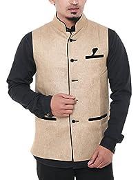 Twist Men's Poly Cotton Slim Fit Dot-Printed White Semi Formal Shirt
