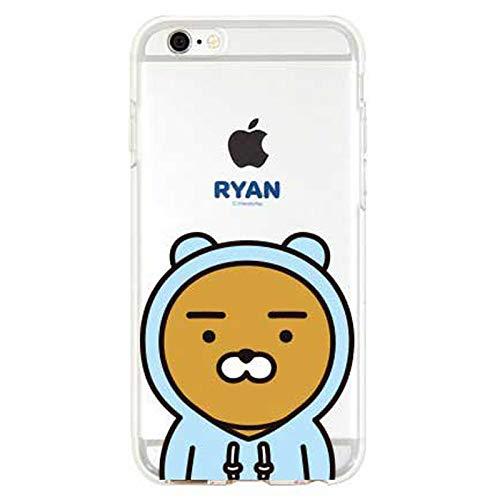 thinkplus Kakao Freunde Cutie Gelee-Kasten für Samsung Galaxy A7 (2018) (Hoodie Ryan)