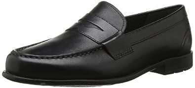 Rockport Classic Loafer Penny, Chaussures de ville homme - Noir, 42.5 EU