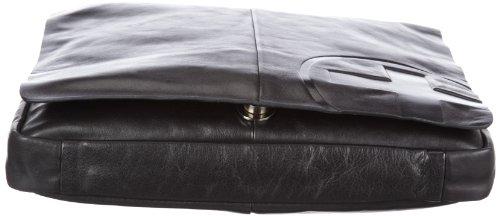 Strellson Messenger SV 01/91/11104-900, Sac à main homme - Noir - V.9 Noir