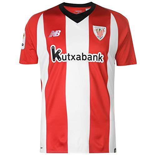 Maillot de Football Officiel New Balance Athletic Bilbao Home 2018-19 pour  Homme Rouge d7e660f95fa44