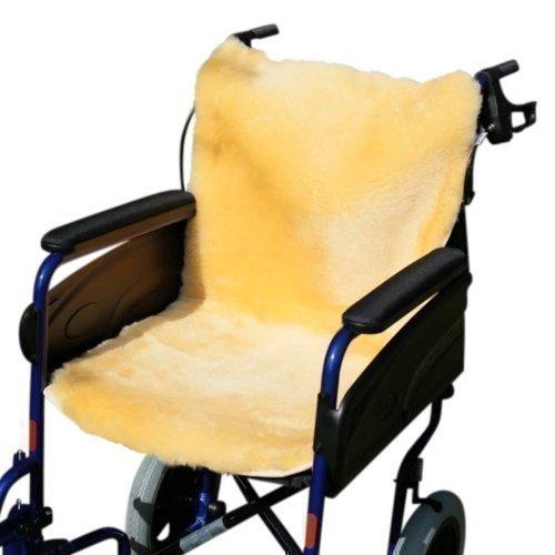 der-Fellmann Rollstuhlauflage gold/gelb 86 x 45 cm