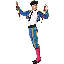 Angel Tomas S.A. - Disfraz torero para adulto, color azul