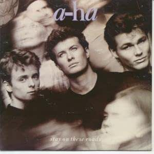 """STAY ON THESE ROADS 7"""" (45) FRENCH WARNER BROS 1988 (9279367) PIC SLEEVE"""