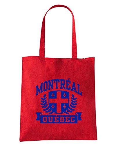 T-Shirtshock - Borsa Shopping TSTEM0238 montreal quebec white Rosso