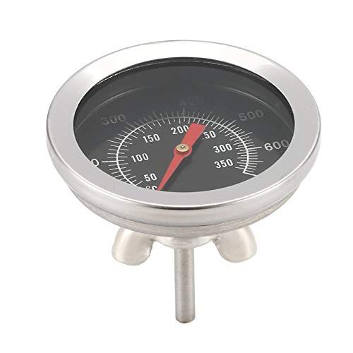 Fannty BBQ Zubehör Grill Fleischthermometer Dial Temperature Gauge Cooking Gage -