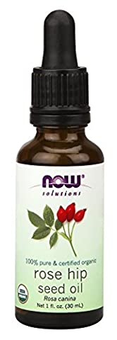 Solutions, Certified Organic Rose Hip Seed Oil, 1 fl oz (30 ml) - Now Foods - 1 Oz Semi