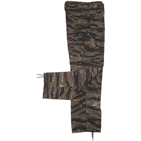 Camo Classic Vietnam BDU - Pantaloni stile militare, taglia (Vietnam Tiger Stripe)