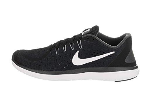 Nike Men's Nike Free Rn Sense Running Shoe, Scarpe Sportive Indoor Uomo Bianco-Grafite-Nero