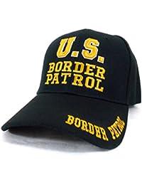 US Border Patrol - Casquette Americaine brodée - Noir - Taille Unique