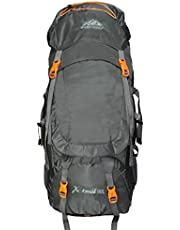 Mount Track XTrail 9109 Grey Hiking Rucksack 90 Ltrs with R