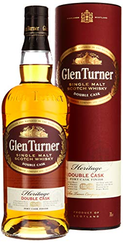 Glen Turner Heritage Reserve Double Cask Whisky (1 x 0.7 l)