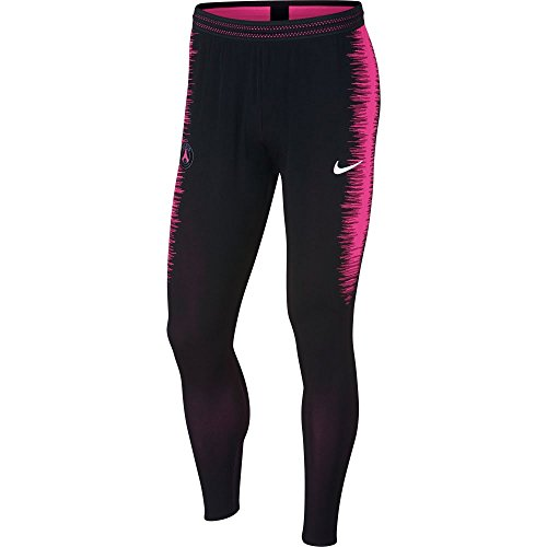 Nike Herren Paris Saint-Germain Squad Hose, Black/Hyper Pink/White, XL