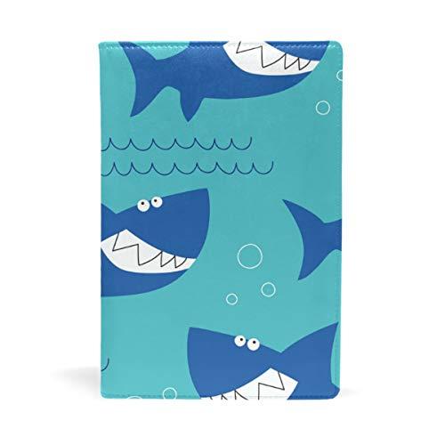 Bucheinband, A5, blauer Hai - Bible Classic Book Cover
