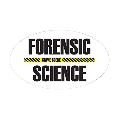 CafePress–Crime Scene Oval Aufkleber–oval Bumper Sticker KFZ Aufkleber, weiß, Large - 4.5x7.5