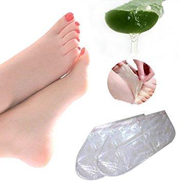 Fuß Peeling Maske, einfach Baby Soft Füße entfernen Hornhaut hart tote Haut für Samtweiche Füße, 2 Paar Hornhautsocke (Baby-fuß-peeling)