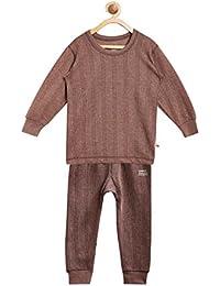 Vimal Jonney Winter King Blended Thermal Top & Pyjama Set for Girls