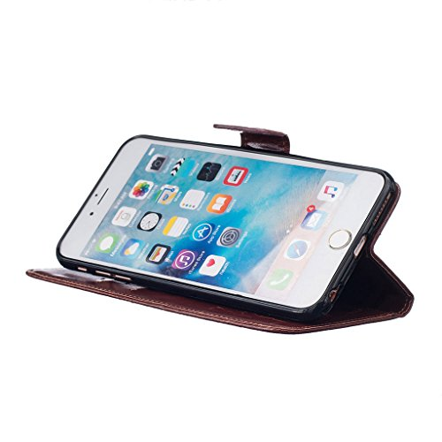 CareyNoce iPhone SE/5S/5 Coque,Arbre Plume Pissenlit Fleur Retro Painted Embossed Pattern Conception Flip Housse Etui Cuir PU Coque pour Apple iPhone SE iPhone 5S iPhone 5 (4.0 pouces) -- Gris Plume T05