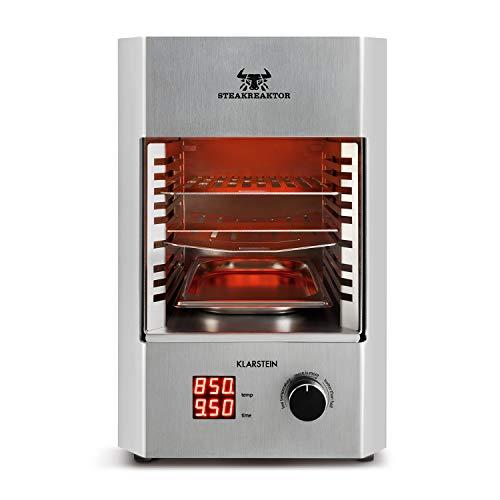 Klarstein Steakreaktor 2.0 - Potente Grill , Parrilla eléctrica , Grill de...