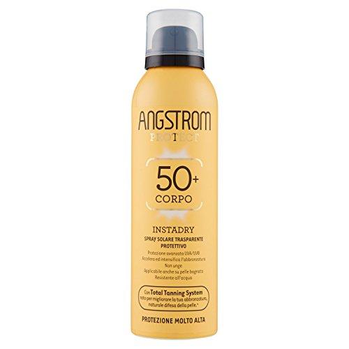 Angstrom protect instadry spray trasparente solare, protezione 50-150 ml