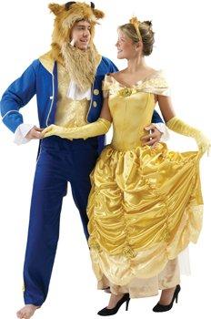 Disney Herren Kostüm das Biest Vincent, the Beast in Größe XL (54/56) aus die Schöne und das Biest. (Beast Für Erwachsene Herren Kostüm)