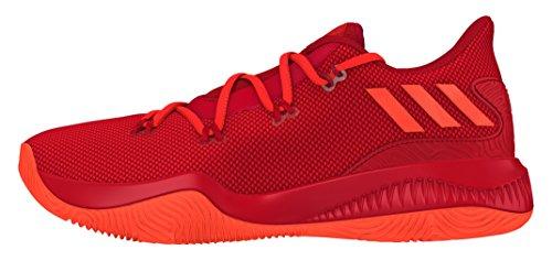 adidas Herren Crazy Fire Basketballschuhe, Multicolore (Redsld/Solred/Scarle), 47 1/3 EU