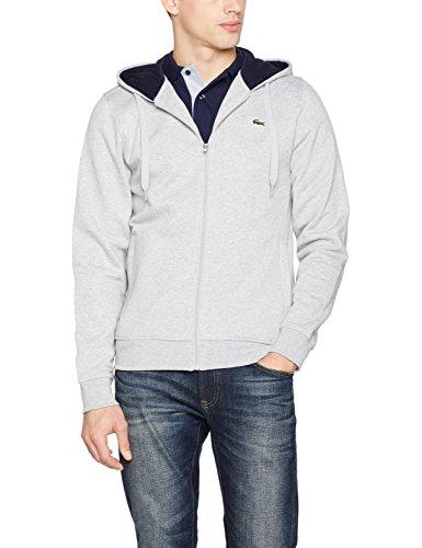 Lacoste Herren Sweatshirt Grau (Argent Chine/Marine)