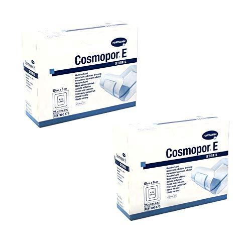 Hartmann Cosmopor E Wundpflaster steril 2 x 25 Stück 10 x 8 cm