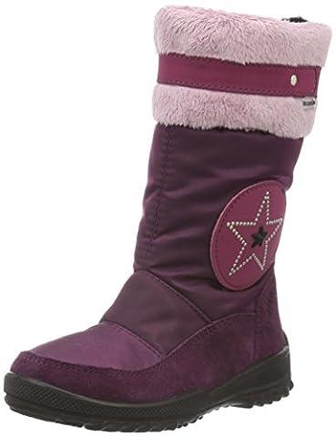 Ricosta Mädchen Ranie-S Schneestiefel, Pink (Merlot 365), 32 EU