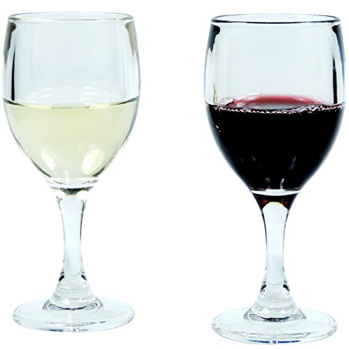 Viva-Haushaltswaren Weingläser aus hochwertigem Kunststoff 2er Set a 140ml